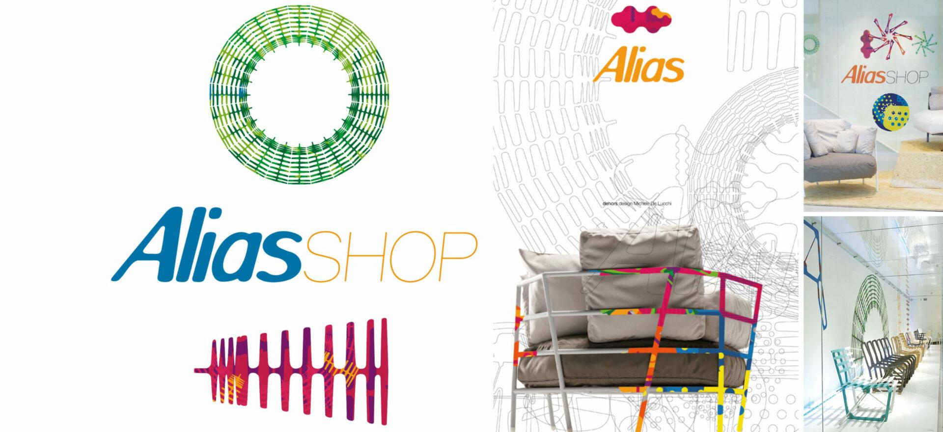 Alias_Alias Shop_Logo design_Mario Trimarchi Design_Graphics Branding