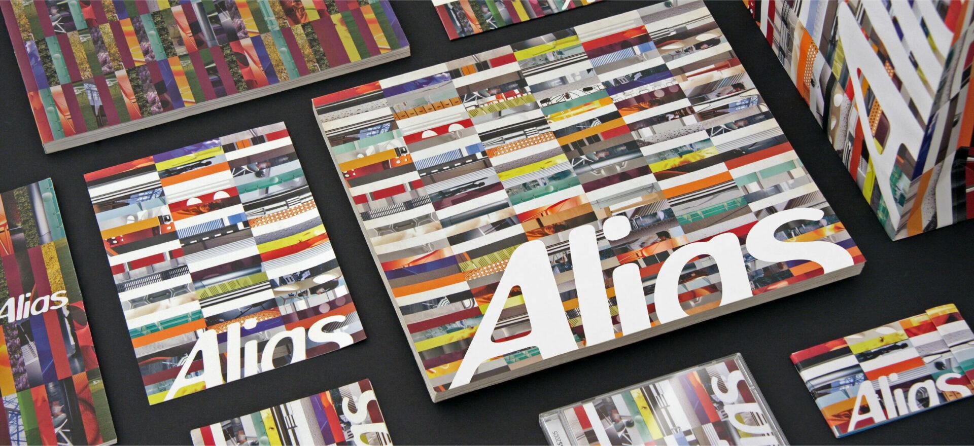 Alias_Corporate catalog_Mario Trimarchi Design_Graphics Branding