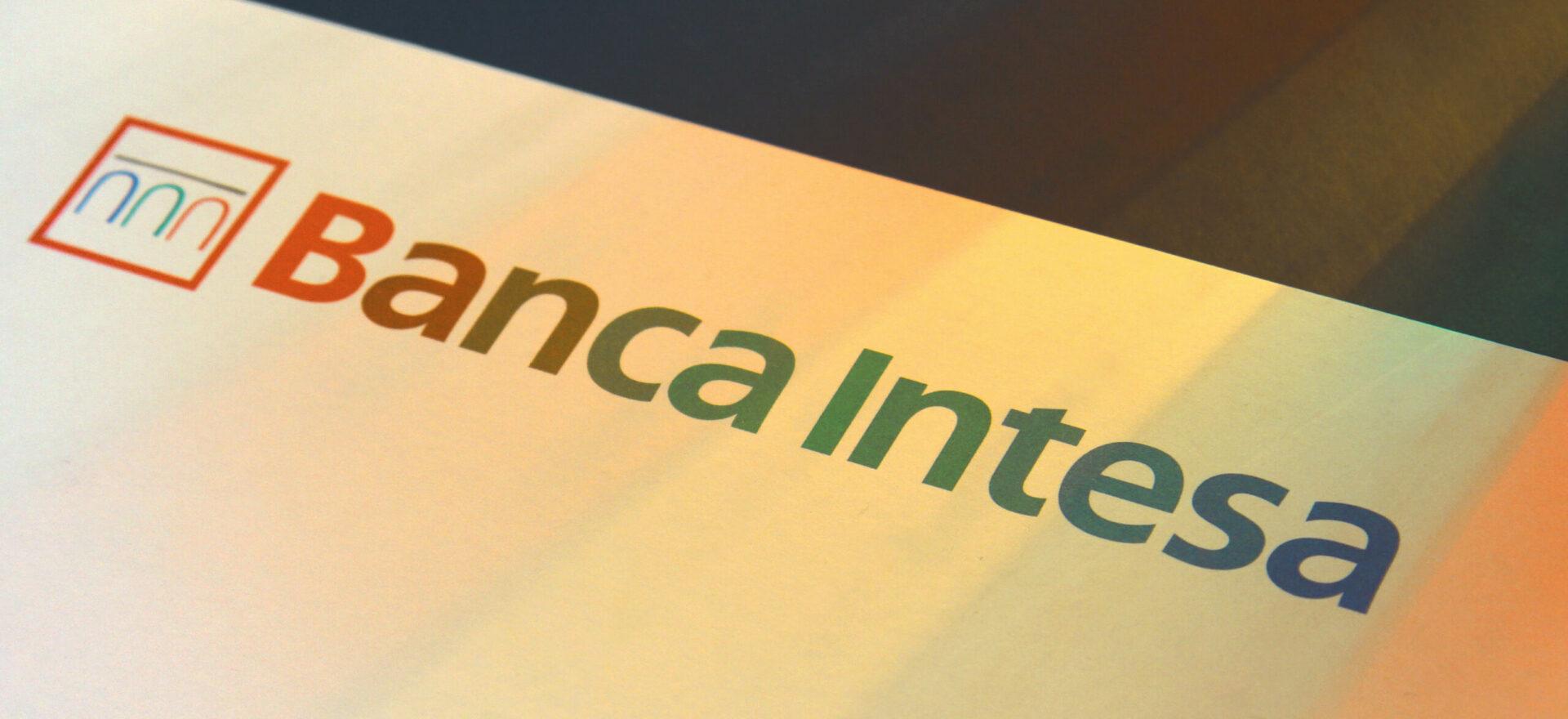 Logo | Graphic Design | Branding | Banca Intesa | Mario Trimarchi Design | Fragile