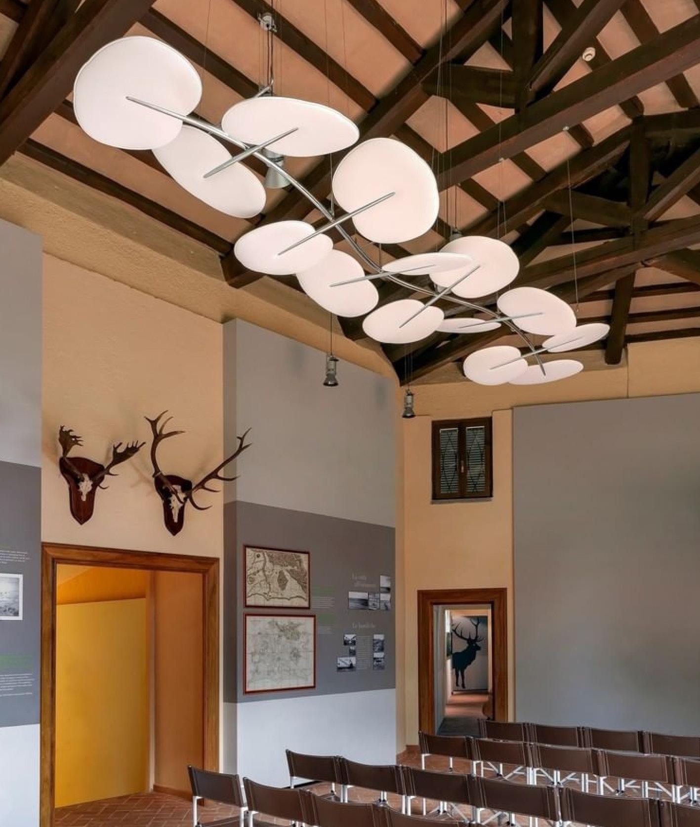 Botanica_Caimi Brevetti_Quirinale Contemporaneo 2020_Sound-absorbing panels_drawing_MT_Mario Trimarchi Design_Product Artworks
