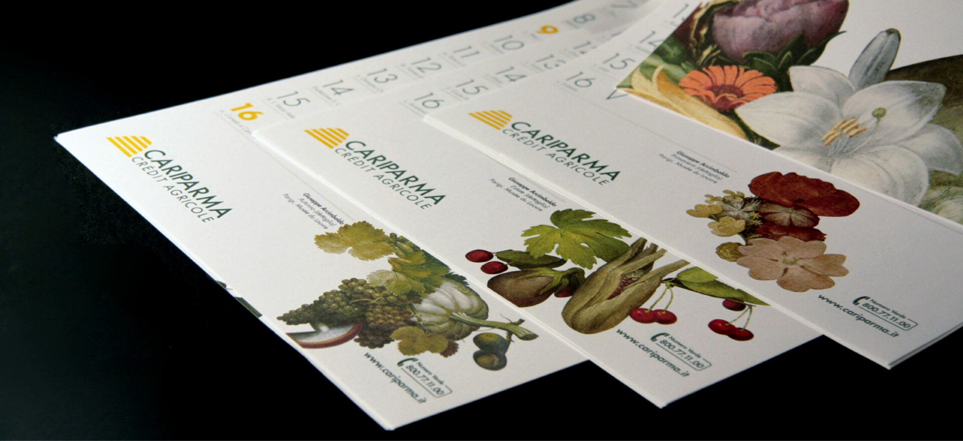 Calendars | Graphic Design | Branding | Cariparma | Mario Trimarchi Design | Fragile