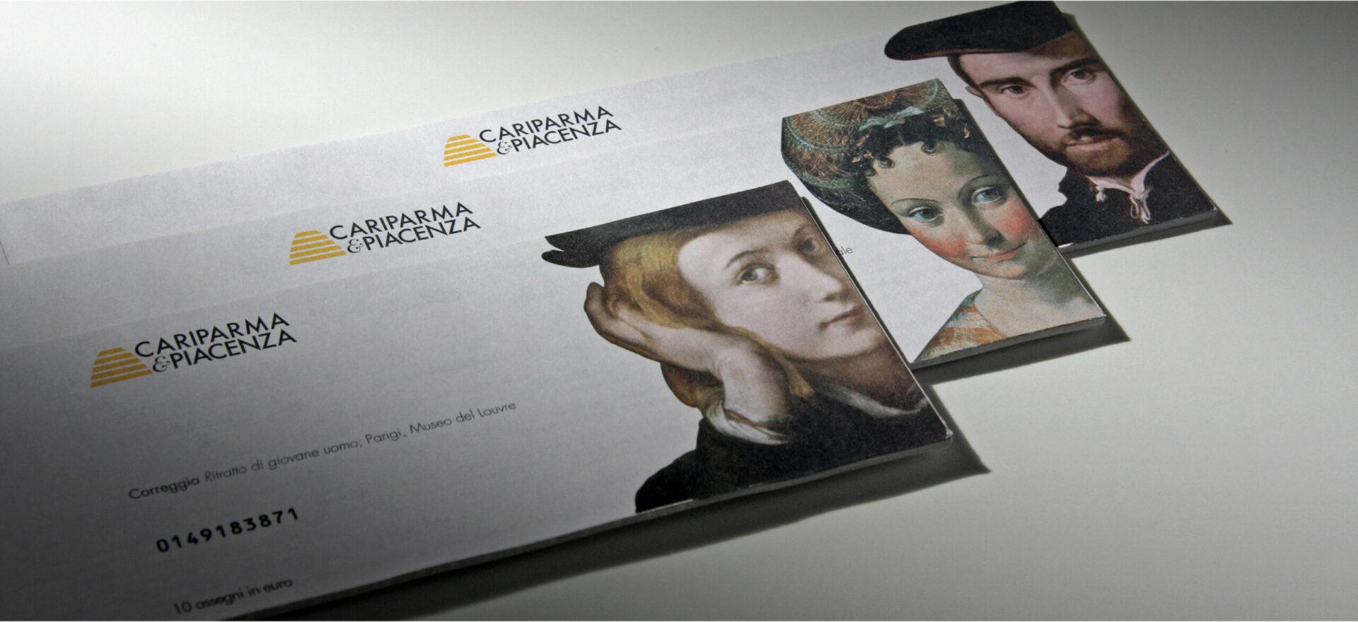 Checks | Graphic Design | Branding | Cariparma | Mario Trimarchi Design | Fragile