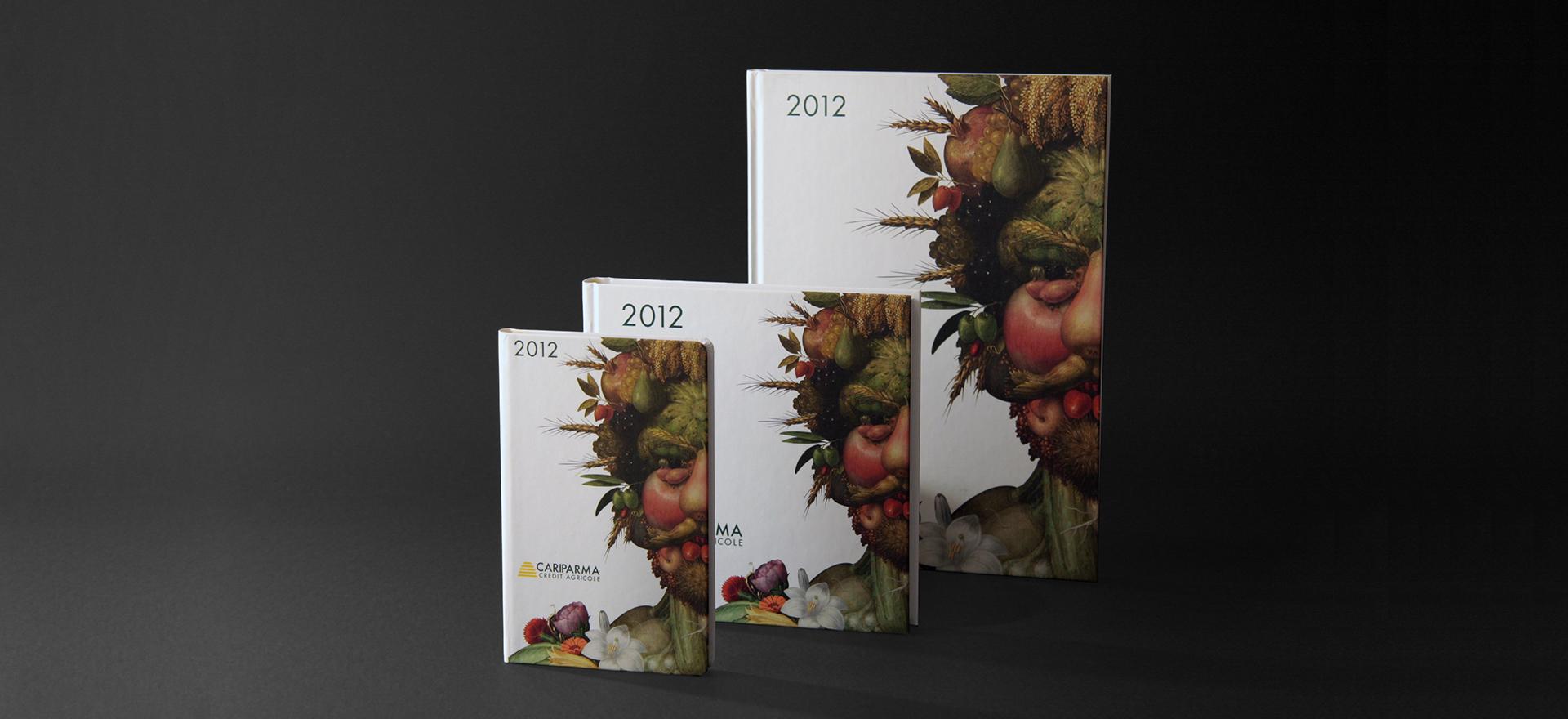 Diary | Logo | Graphic Design | Branding | Cariparma | Mario Trimarchi Design | Fragile