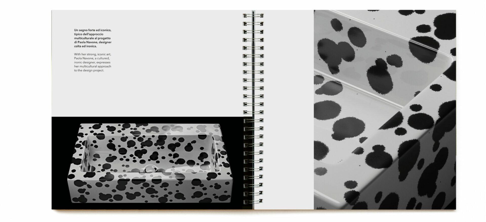 Aquagrande | Graphic Design | Catalogue | Ceramica Flaminia | Mario Trimarchi Design | Fragile