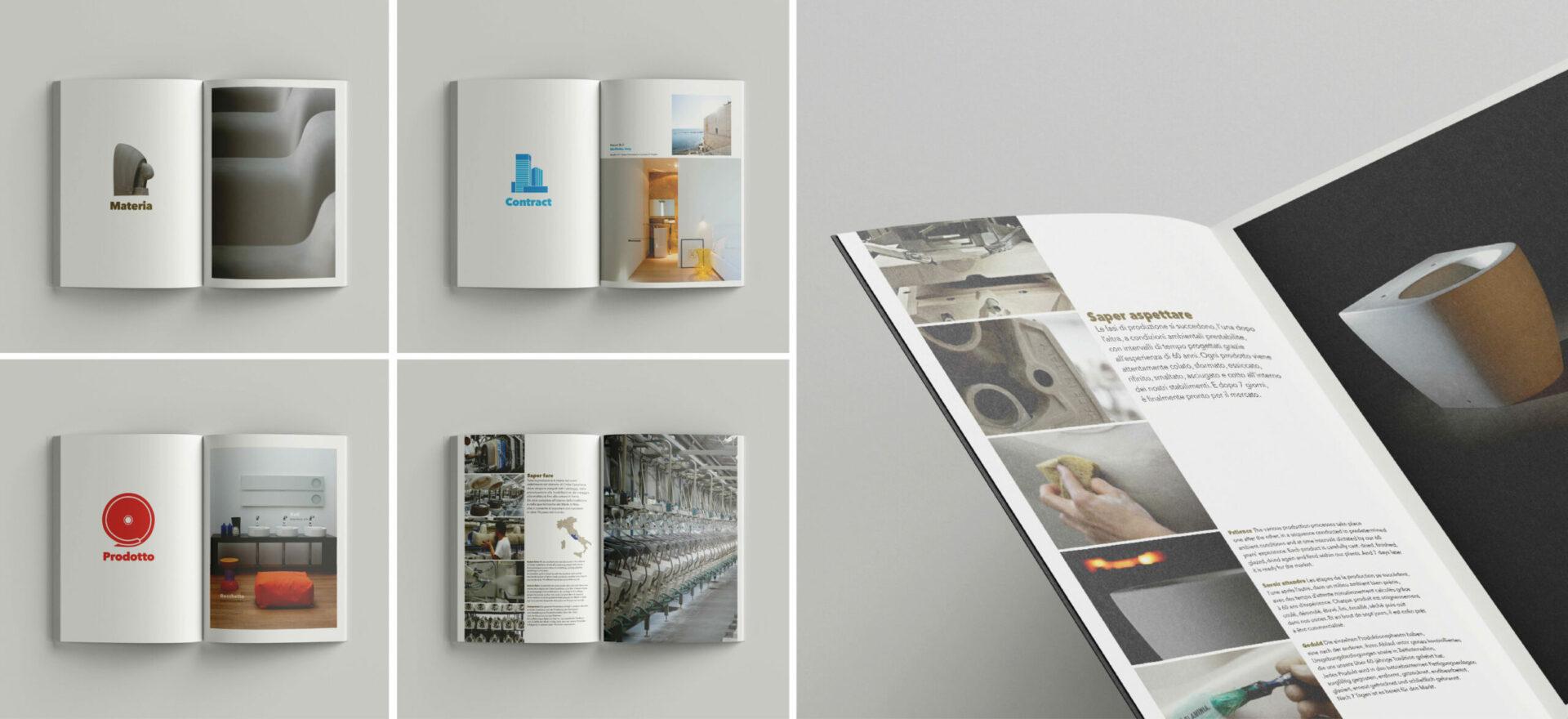 Company Profile | Graphic Design | Catalogues | Ceramica Flaminia | Mario Trimarchi Design | Fragile