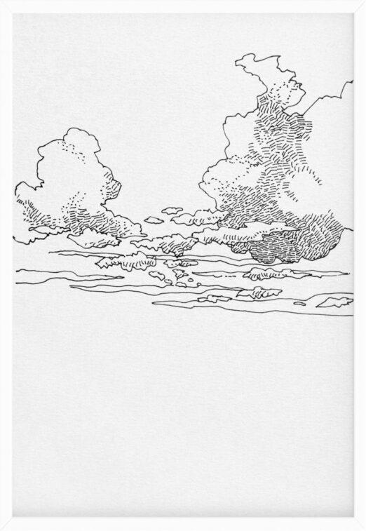 Clouds 1 | Drawings | Mario Trimarchi Design