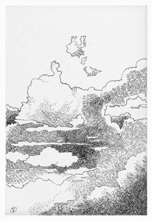 Clouds 1 | Drawings | Mario Trimarchi Design3