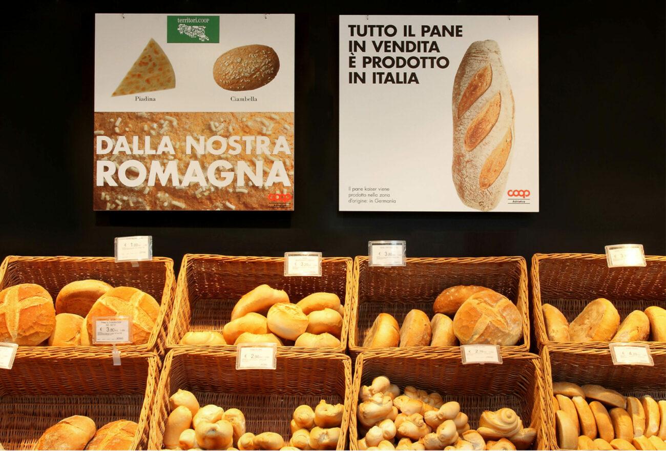 Panetteria | Graphic & Interior Design | Branding | Coop Italia| Mario Trimarchi Design | Fragile