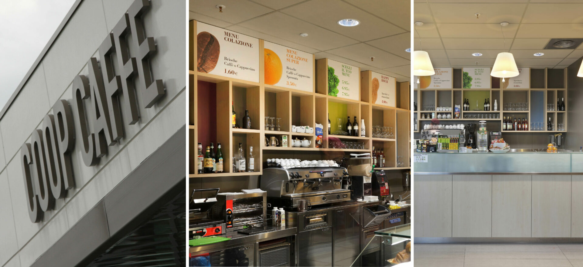 Coop Caffe | Graphic & Interior Design | Branding | Coop Italia| Mario Trimarchi Design | Fragile