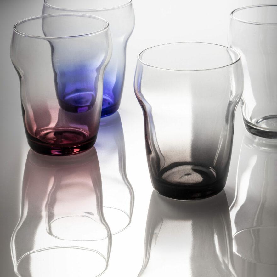 Semplice | Product Design | Glasses | Coop Italia| Mario Trimarchi Design | | Ph Santi Caleca