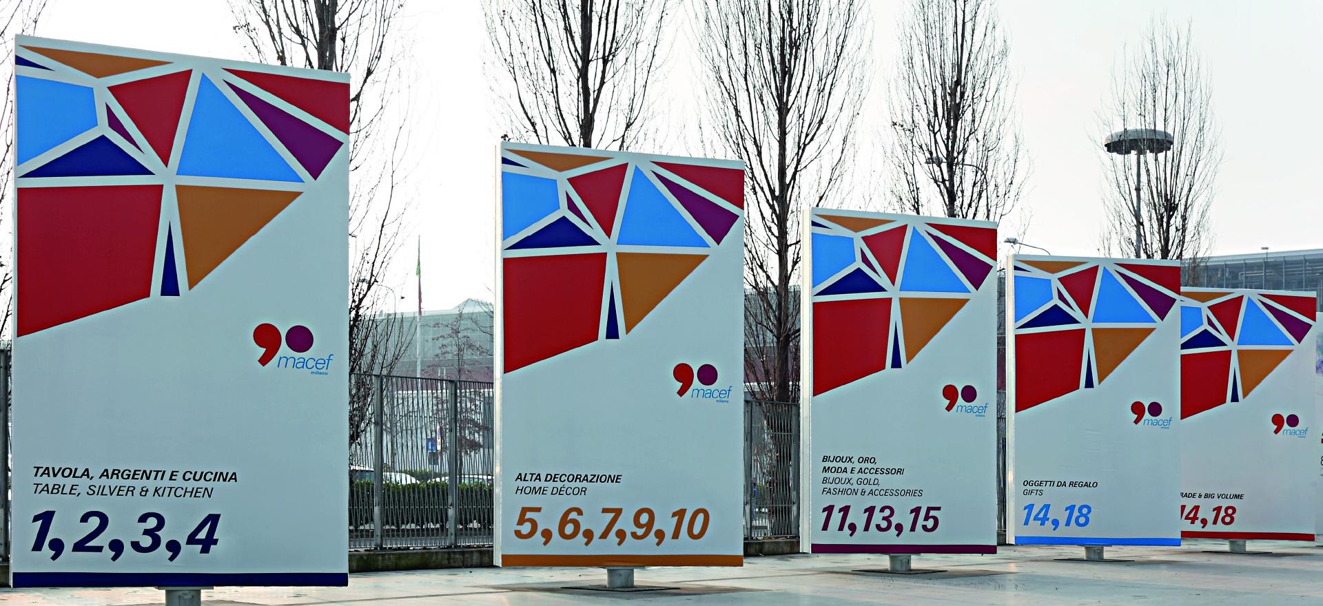 Rho Fiera Milano | Exhibition Design | Branding | Macef 90 | Mario Trimarchi Design | Fragile