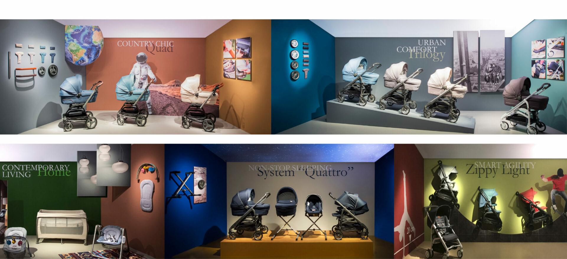 Retail   Exhibition Design   Branding   Inglesina   Mario Trimarchi Design   Fragile