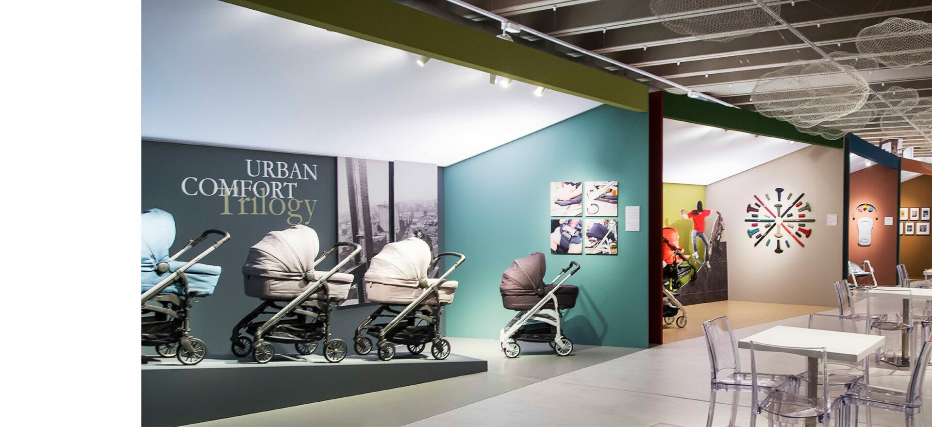 Retail | Exhibition Design | Branding | Inglesina | Mario Trimarchi Design | Fragile