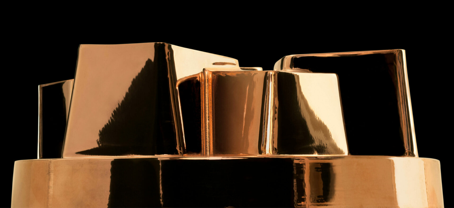 Dessert molds in copper | Numbered Edition | Kughelof & Savarin | Officina Alessi | Mario Trimarchi Design | Ph Santi Caleca