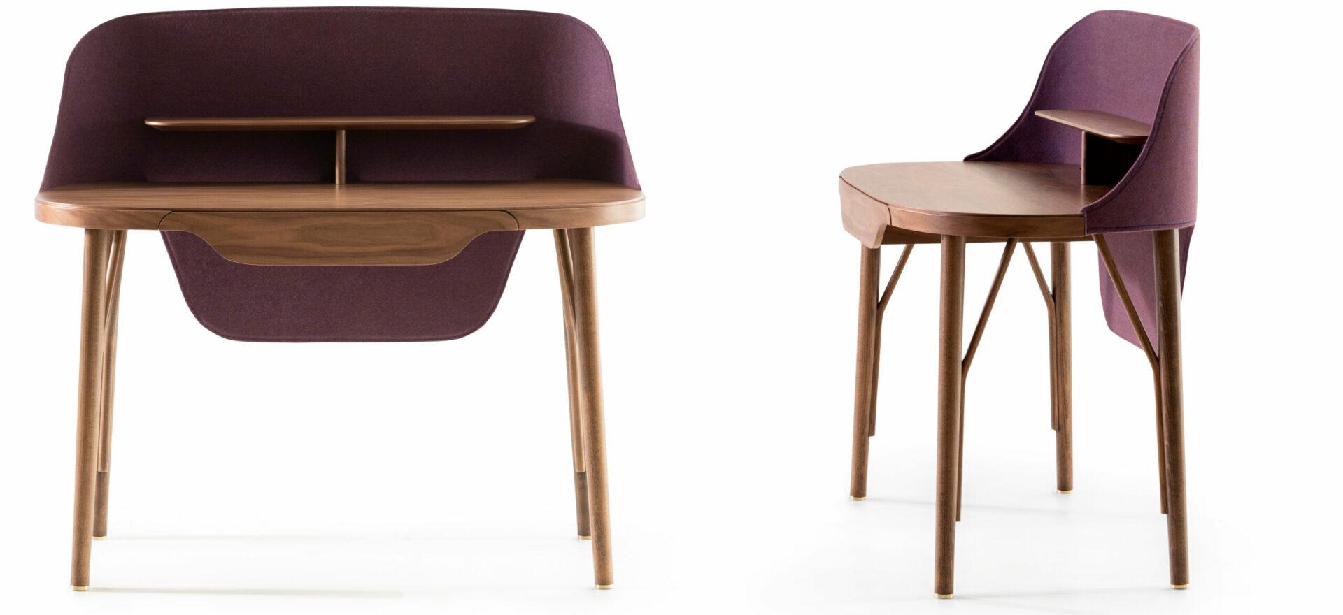 LUNEDI_Addo_workstation_home office_wood and fabric_Mario Trimarchi Design3