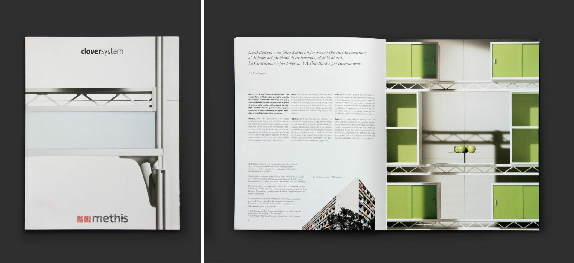 Clover System Catalogue | Graphic Design | Branding | Methis | Mario Trimarchi Design | Fragile