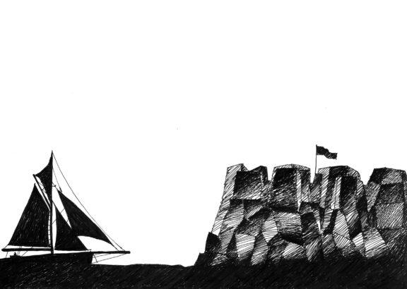 Neverland_Il tempo della festa_Boat2_Drawing_Thinking and Drawing_Mario Trimarchi Design