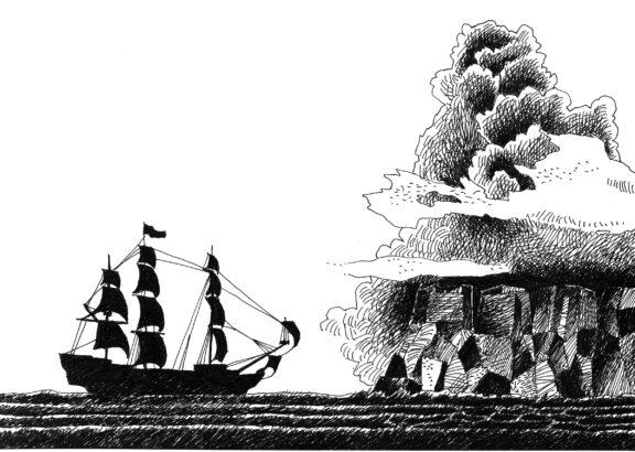Neverland_Il tempo della festa_Boat_Drawing_Thinking and Drawing_Mario Trimarchi Design