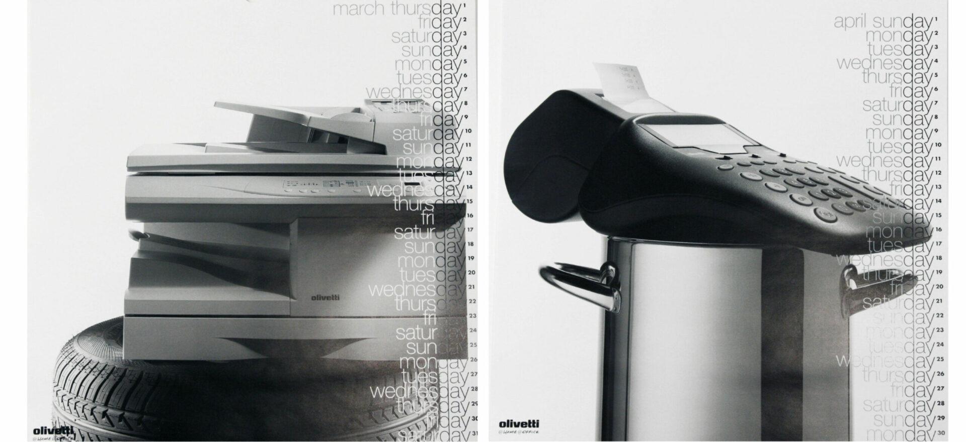 Art Direction | Graphic Design | Branding | Calendars | Olivetti | Mario Trimarchi Design | Fragile