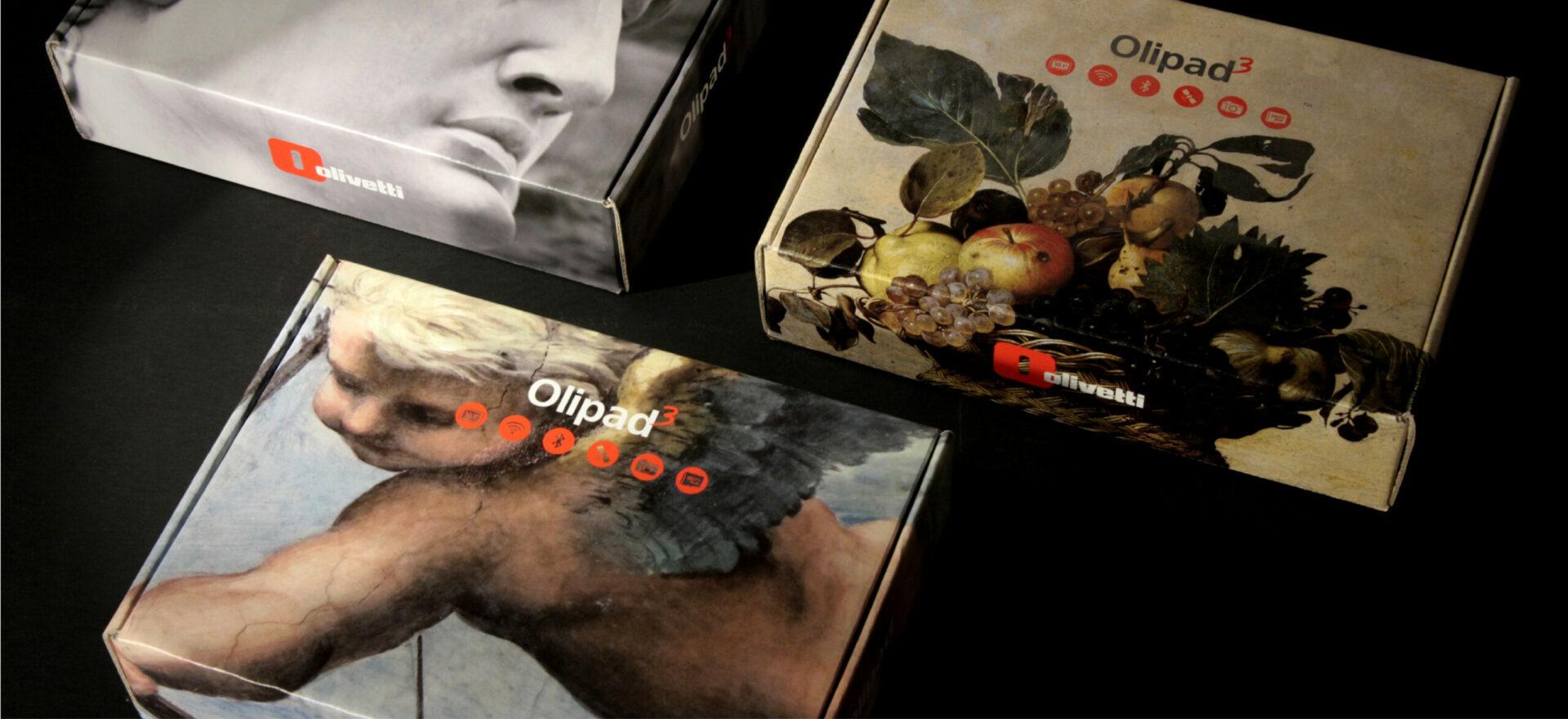 Olipad | Graphic Design | Branding | Packaging | Olivetti | Mario Trimarchi Design | Fragile