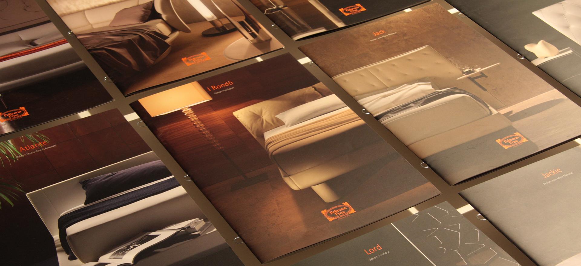 Products Catalogue | Art Direction | Graphic Design | Branding | Poltrona Frau | Mario Trimarchi Design | Fragile