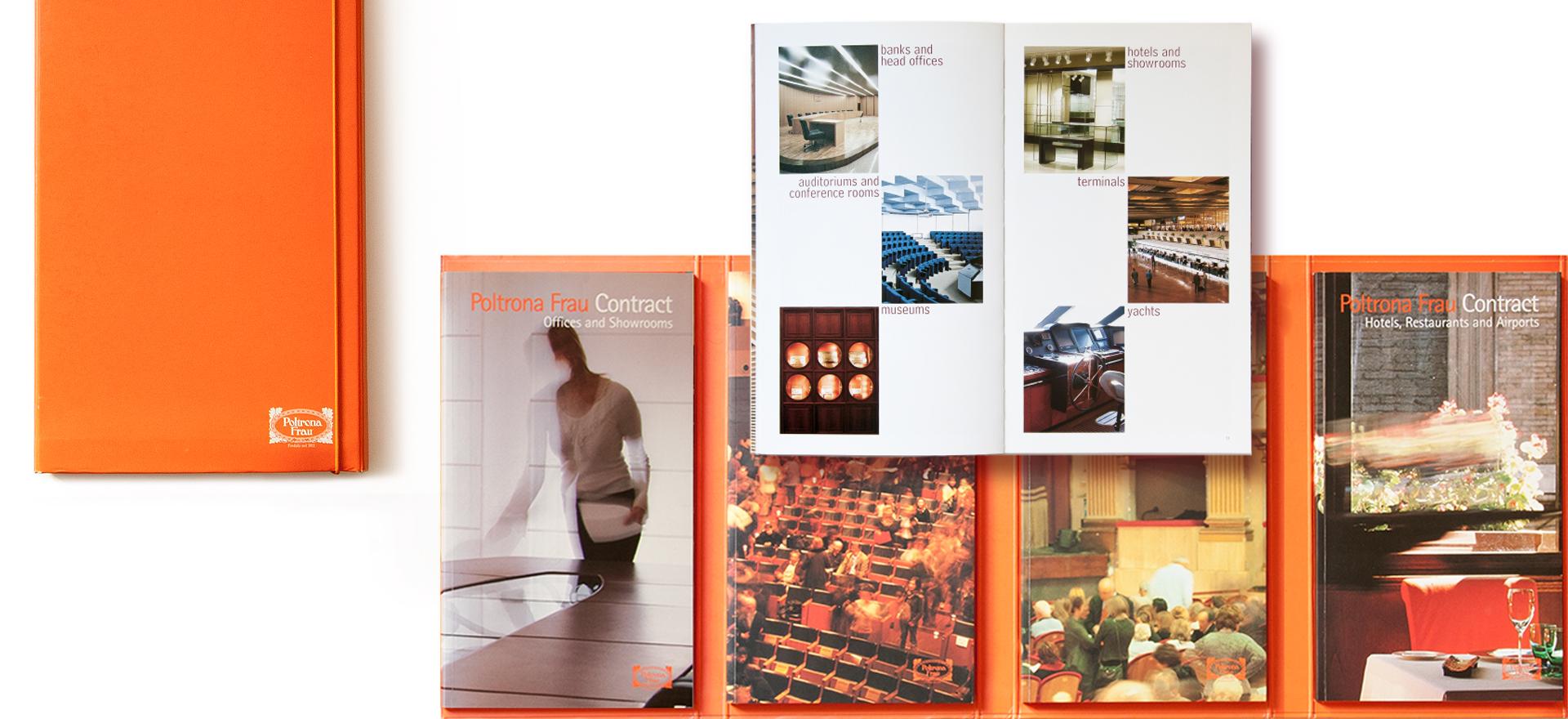 Offices & Showroom Catalogue | Art Direction | Graphic Design | Branding | Poltrona Frau | Mario Trimarchi Design | Fragile