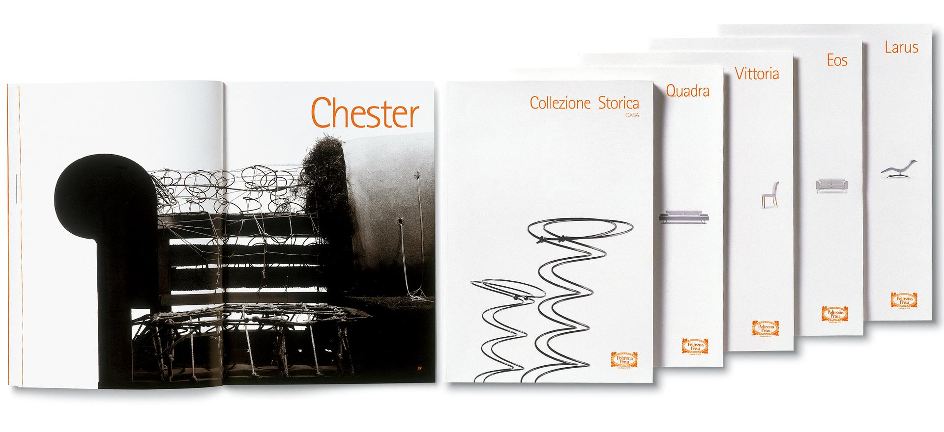 Product Catalogue | Art Direction | Graphic Design | Branding | Poltrona Frau | Mario Trimarchi Design | Fragile