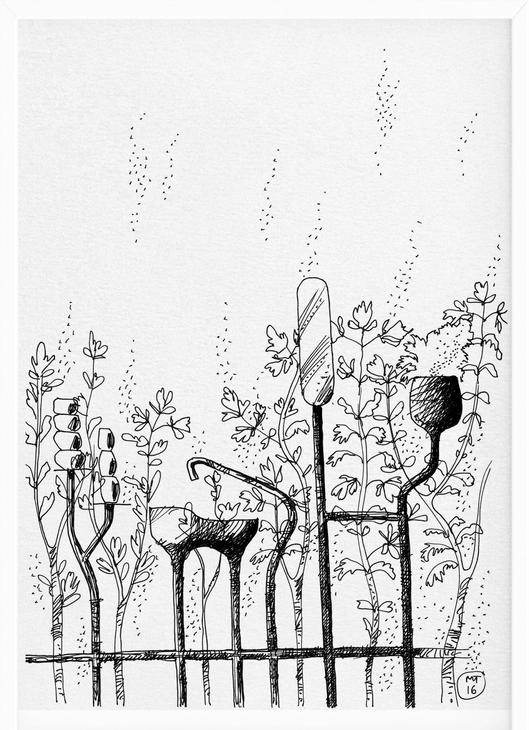 Rain | Drawings | Mario Trimarchi Design4