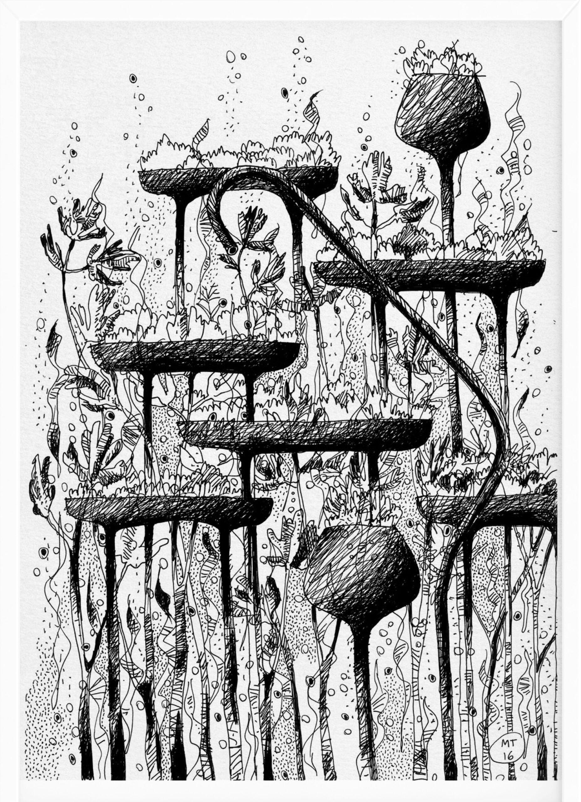 Rain | Drawings | Mario Trimarchi Design6