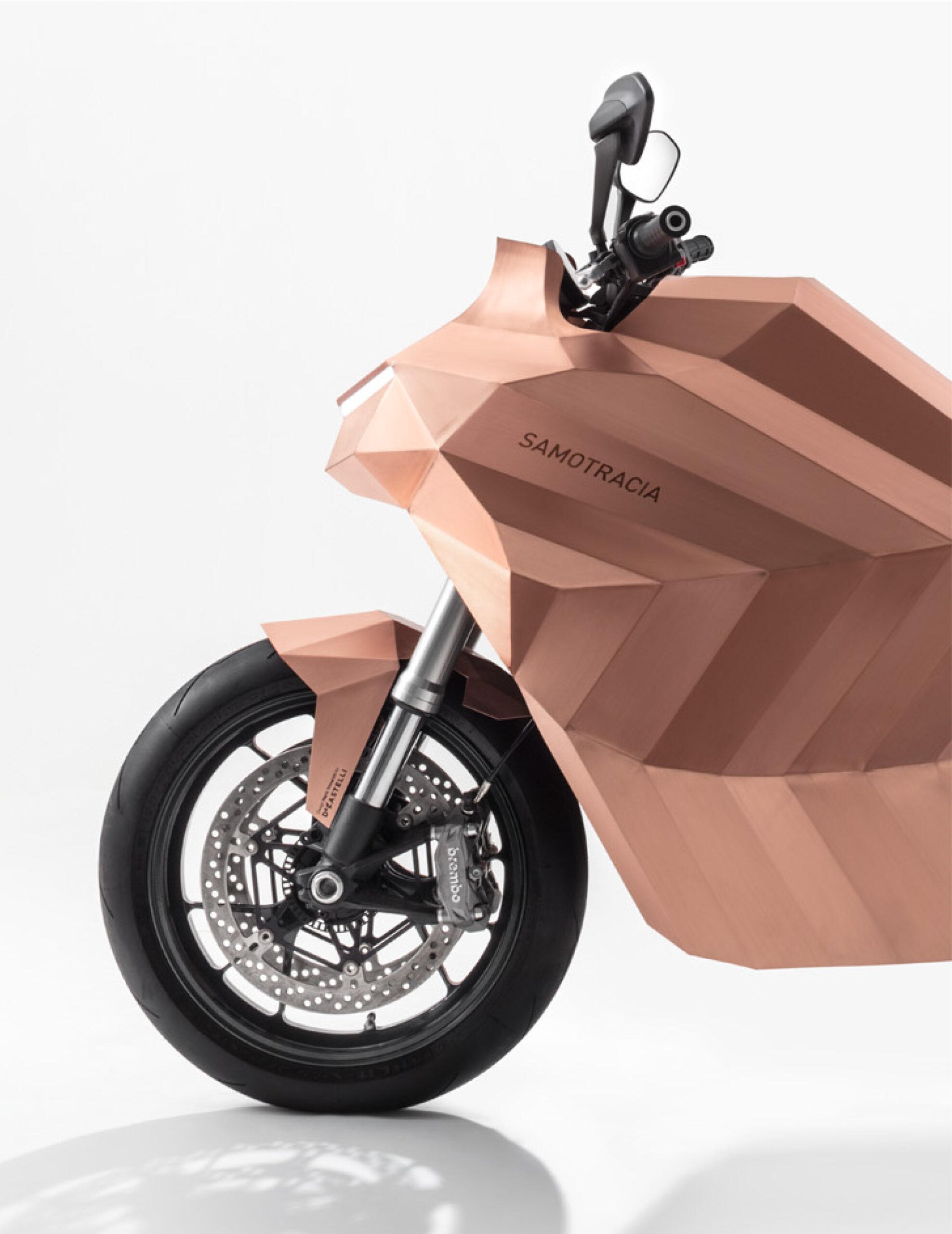 Samotracia_copper-motorbike_Mario-Trimarchi-Design