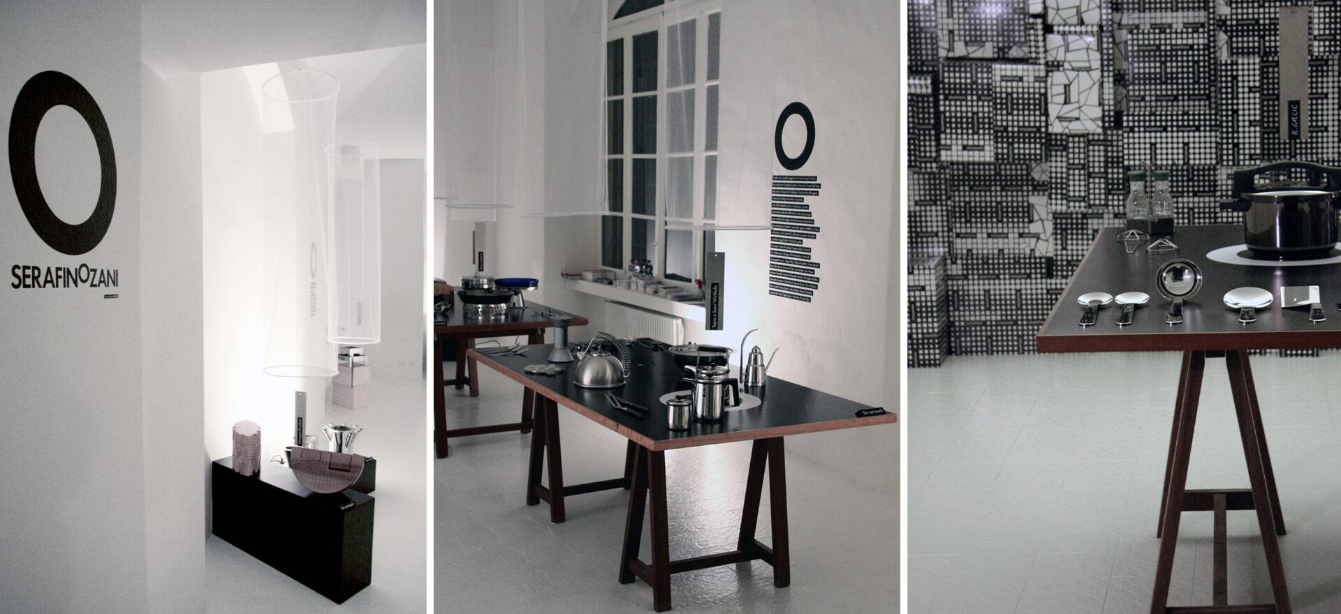 Art Direction   Graphic design   Exhibition Design  Serafino Zani   Mario Trimarchi Design   Fragile