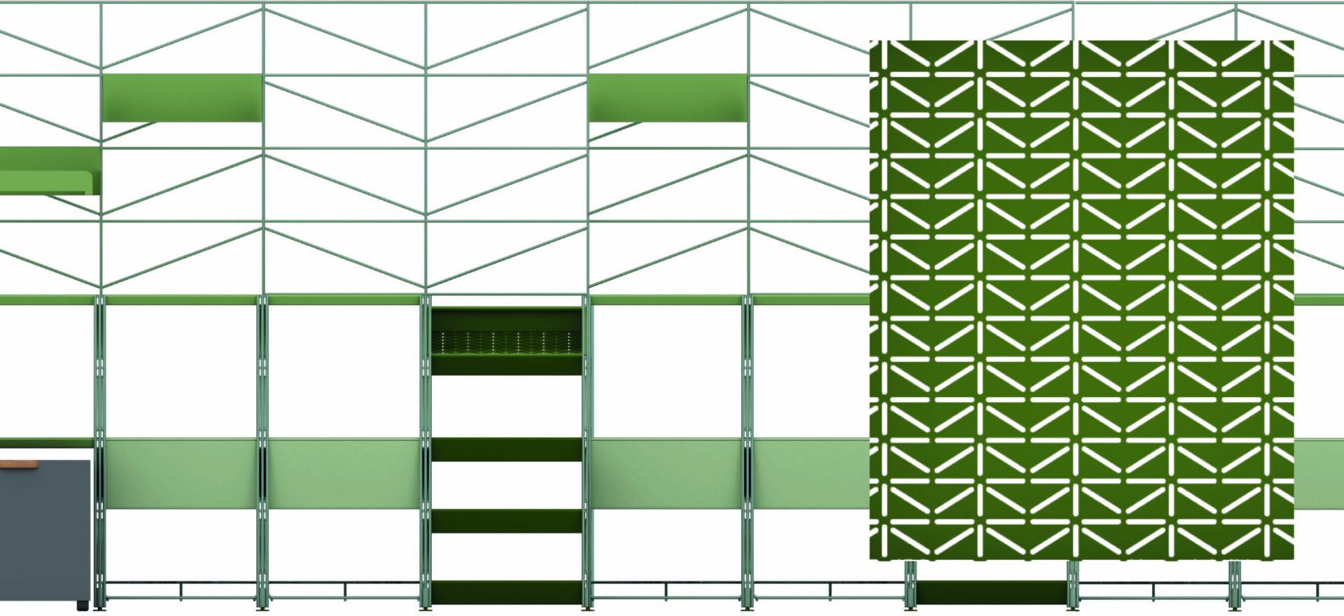 Socrate Outdoor_Outdoor Furniture_Caimi_Pattern_Mario Trimarchi Design