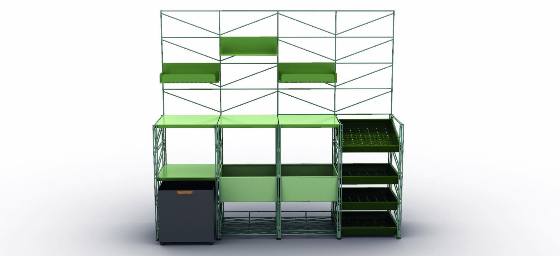 Socrate Outdoor_Outdoor Furniture_Green_Caimi_Mario Trimarchi Design
