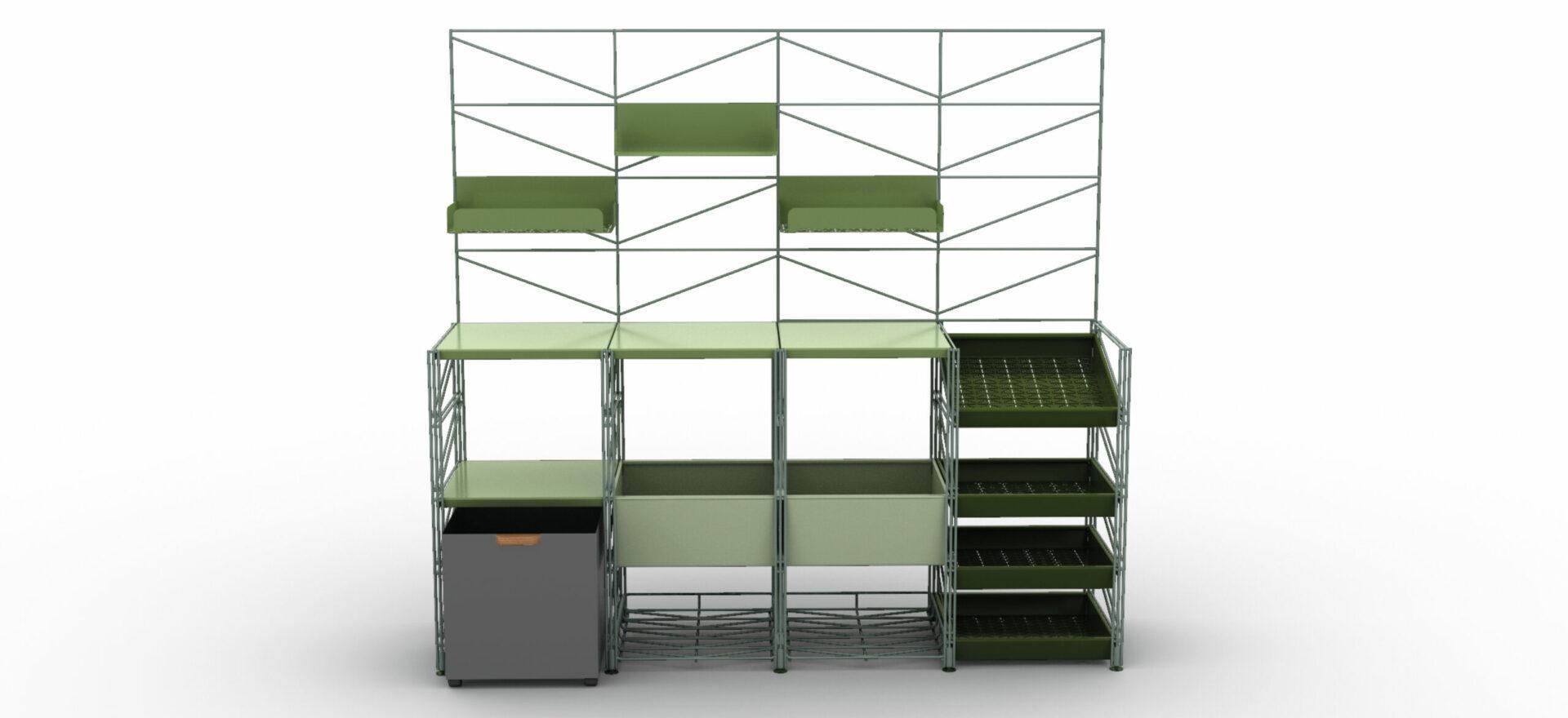 Socrate Outdoor_Outdoor Furniture_Green__Caimi_Mario Trimarchi Design