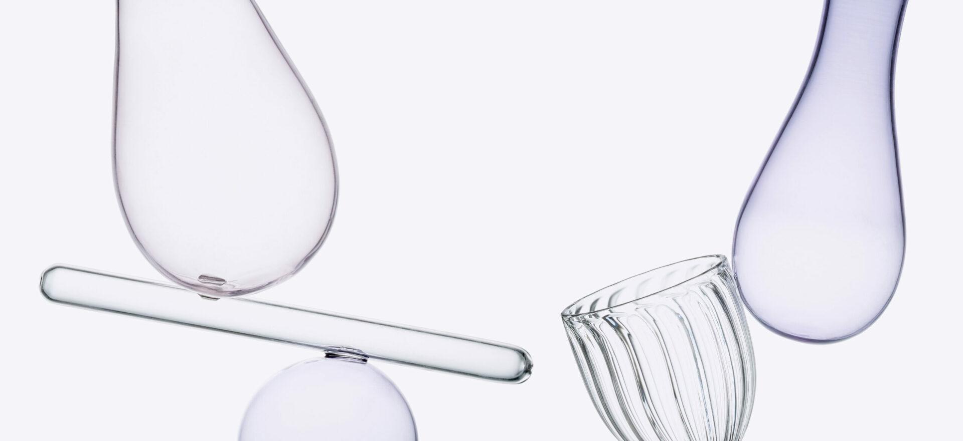 (Un)balanced_Paşabahçe__Vases collection_Flowers_Mario Trimarchi Design_Products Artworks
