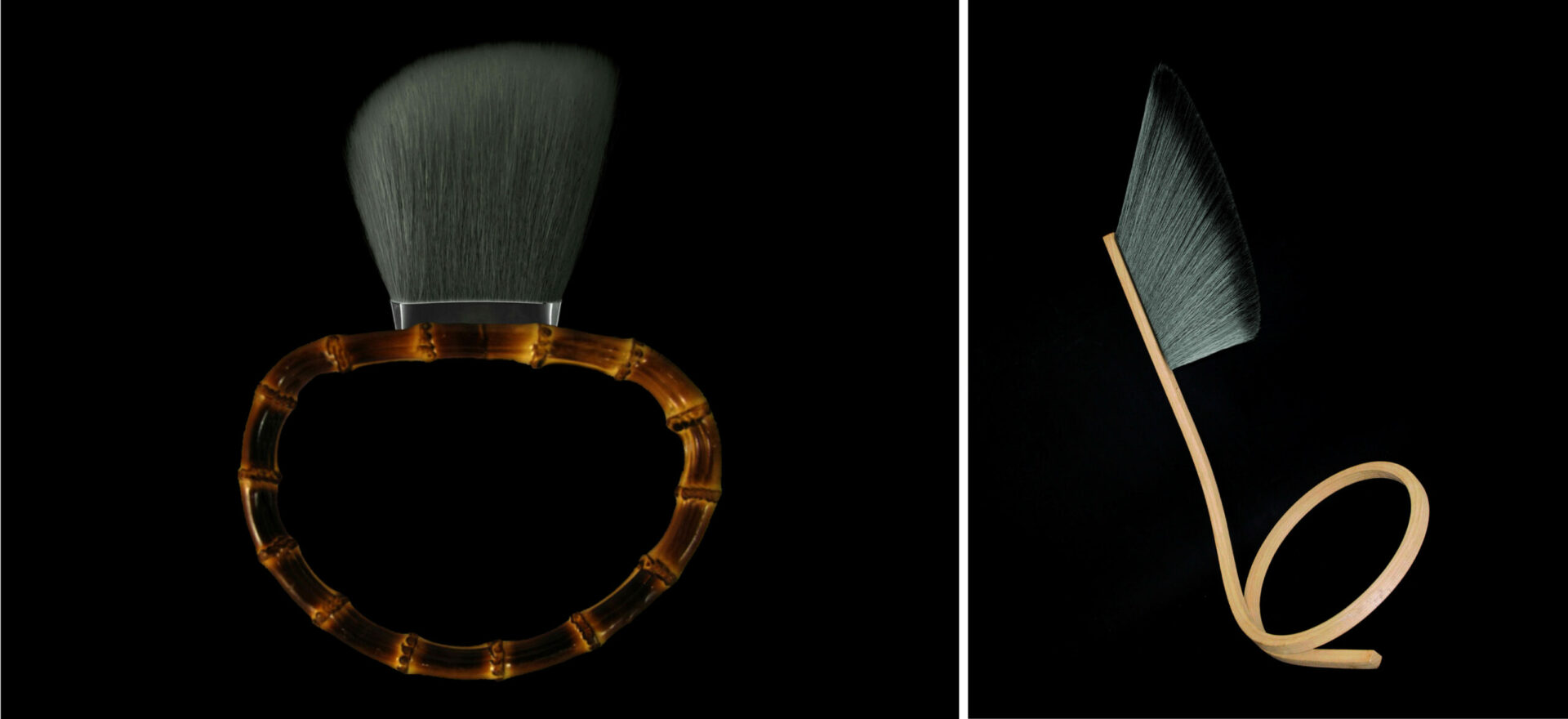 Yuubi brushes_Limited Collection_Makeup brushes_Mario Trimarchi Design_Products Artworks